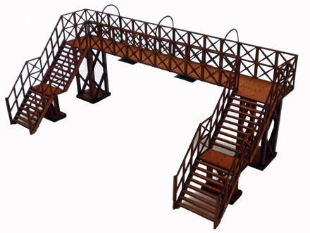 Platform Footbridge OO Scale