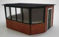 Security Guard House Kit OO Scale