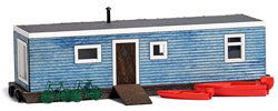 Busch 1439 Blue Wooden House Boat
