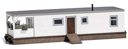 Busch 1441 White Wooden House Boat