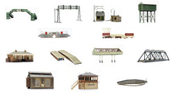 Dapol Kitmaster Kits Railway Buildings