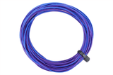 Twin Decoder Wire Stranded 6m Purple/Blue Reel