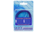 Twin Decoder Wire Stranded 6m Purple/Blue Packaged