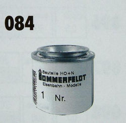 Sommerfeldt 084 RAL 7012 Basalt/Grey Paint 50g For Overhead Wires