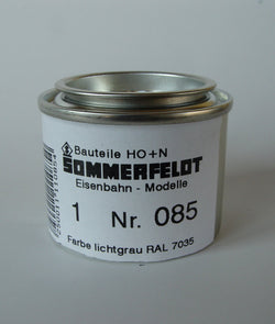 Sommerfeldt 085 RAL 7035 Paint 50g For Painting Masts