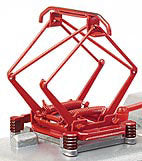 Sommerfeldt 795 N Pantograph HISE 7, Single Contact Shoe, Red