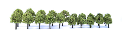 Scalology Light Green Trees