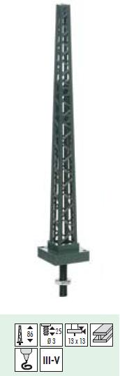 Sommerfeldt 426 Tower Mast 86mm High
