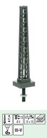 Sommerfeldt 427 Tower Mast 62mm High