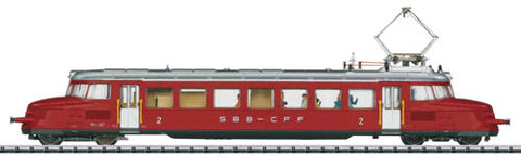 Trix 22868 Sbb Red Arrow Electric Railcar III (Dcc Fitted)