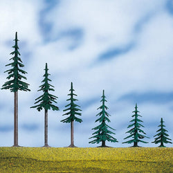 Auhagen 71913 Evergreen Tree With Base 5 cm