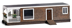 Busch 1440 Brown Wooden house Boat
