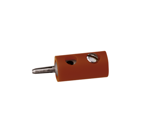 Brawa 3004 Pin Connector Dia 2 5 mm brown