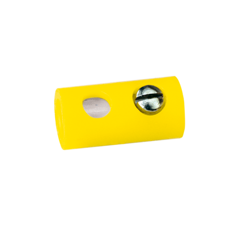 Brawa 3041 Sockets Dia 2 5 mm yellow