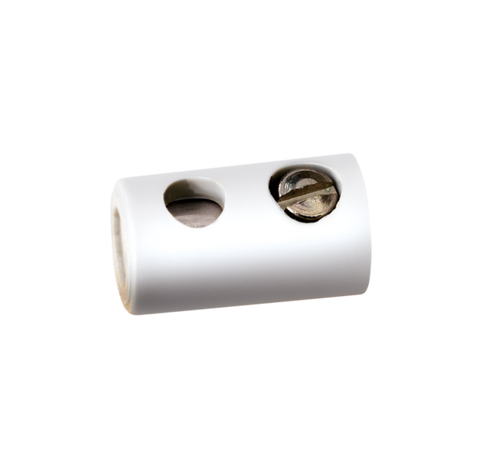Brawa 3049 Sockets Dia 2 5 mm white