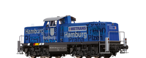 Brawa 41537 Diesel Locomotive BR 295 Hamburg Metrans AC Digital EXTRA