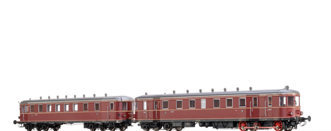 Brawa 44389 Diesel Railcar VT 62 9 and Trailer VB 147 DB AC Digital EXTRA