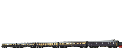 Brawa 45916 Rheingold Express Train Coach Set DRG 5-unit DC