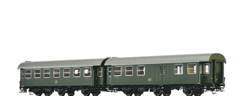 Brawa 46308 Passenger Coaches B3yge and BPw3yge DB set of 2
