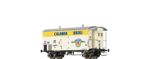 Brawa 47868 Covered Freight Car K2 Calanda SBB