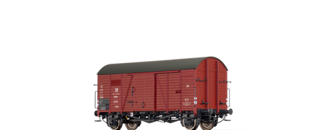 Brawa 47977 Covered Freight Car Grrhs DR Brit-US-Zone