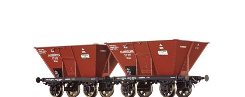 Brawa 48802 Coal Cars Otru K P E V set of 2