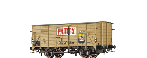 Brawa 49036 Covered Freight Car G10 Pattex DB