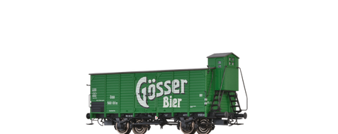 Brawa 49705 Covered Freight Car G10 Goesser Bier BBOE
