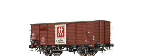 Brawa 49740 Covered Freight Car G10 Zwilling DB