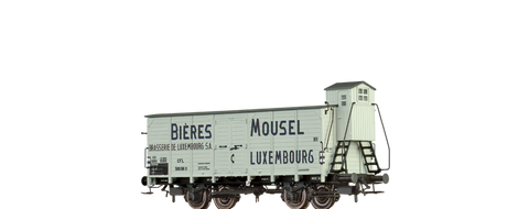Brawa 49758 Covered Freight Car Mousel Bieres CFL