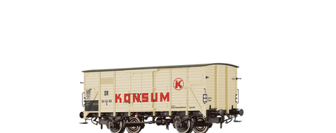 Brawa 49764 Covered Freight Car G Konsum DR