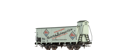 Brawa 49767 Covered Freight Car Heinrich Baumgarten DR Brit-US-Zone