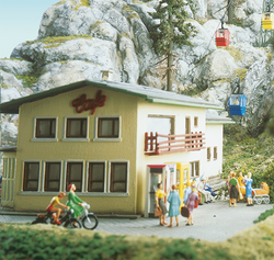 Brawa 6290 Kanzelwand Funicular Building Set for Mountain and Valley Station