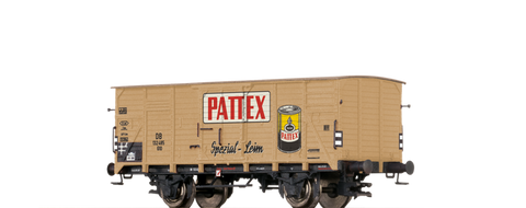 Brawa 67423 Covered Freight Car G10 Pattex DB