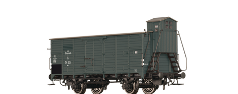 Brawa 67452 Covered Freight Car G BB