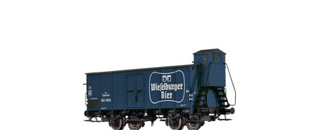 Brawa 67461 Covered Freight Car Wieselburger BB