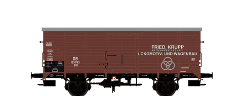 Brawa 67469 Covered Freight Car G10 Krupp DB