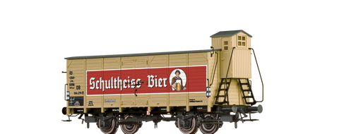 Brawa 67474 Beer Car G10 Schultheiss Berlin DB