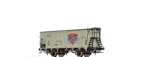 Brawa 67486 Covered Freight Car G10 Wick DB