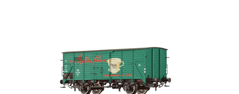 Brawa 67490 Covered Freight Car G10 Melitta DB