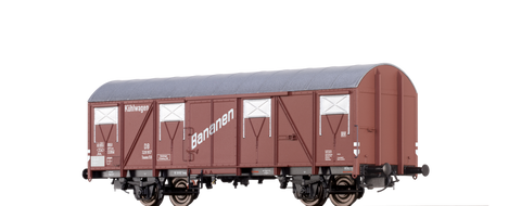 Brawa 67804 Refrigerator Car for bananas Tnoms 59 DB