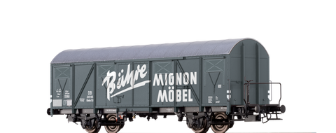 Brawa 67806 Covered Freight Car Glmhs 50 Bhre Mignon Mbel DB