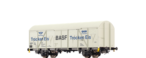Brawa 67810 Covered Freight Car Gbs-uv 253 BASF Trocken Eis Transthermos DB
