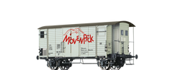 Brawa 67858 Covered Freight Car K2 Mvenpick SBB