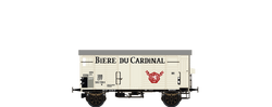 Brawa 67865 Covered Freight Car K2 Biere du Cardinal SBB