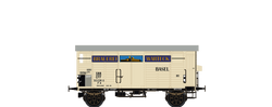 Brawa 67867 Covered Freight Car K2 Brauerei Warteck SBB