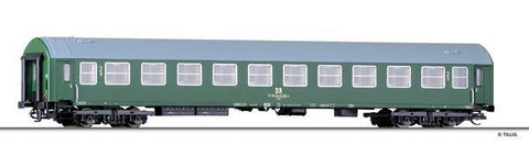 Tillig 16672 2nd class passenger coach Bme type Y of the DR Ep. IV