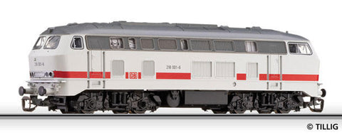 "Tillig 2709 02709 TT START Diesel locomotive BR 218 in ""InterCity"" livery"