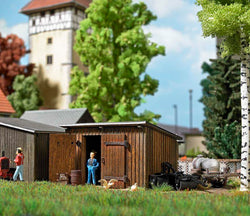 Busch 1594 HO Wooden shed