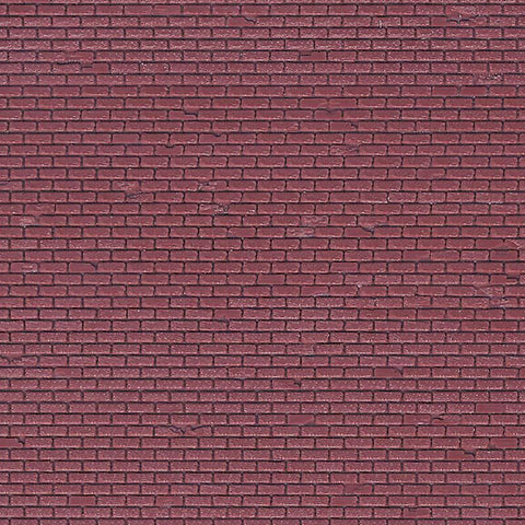 Vollmer 46028 OO/HO Red Brick Sheet